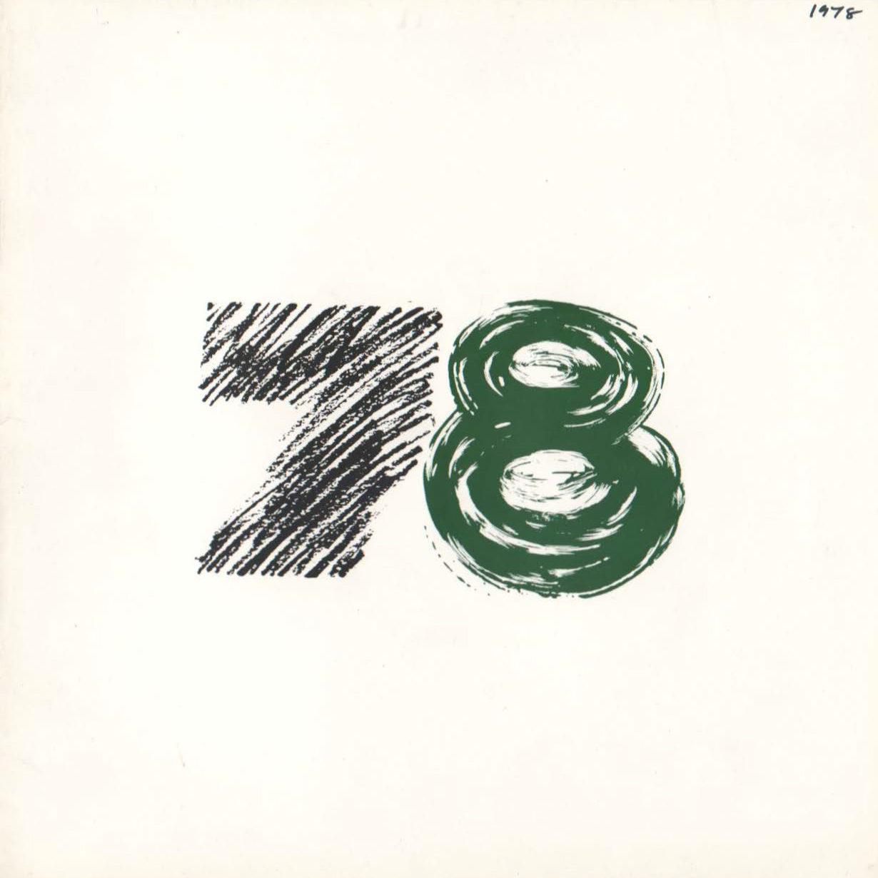 EVA International 1978 Catalogue Cover
