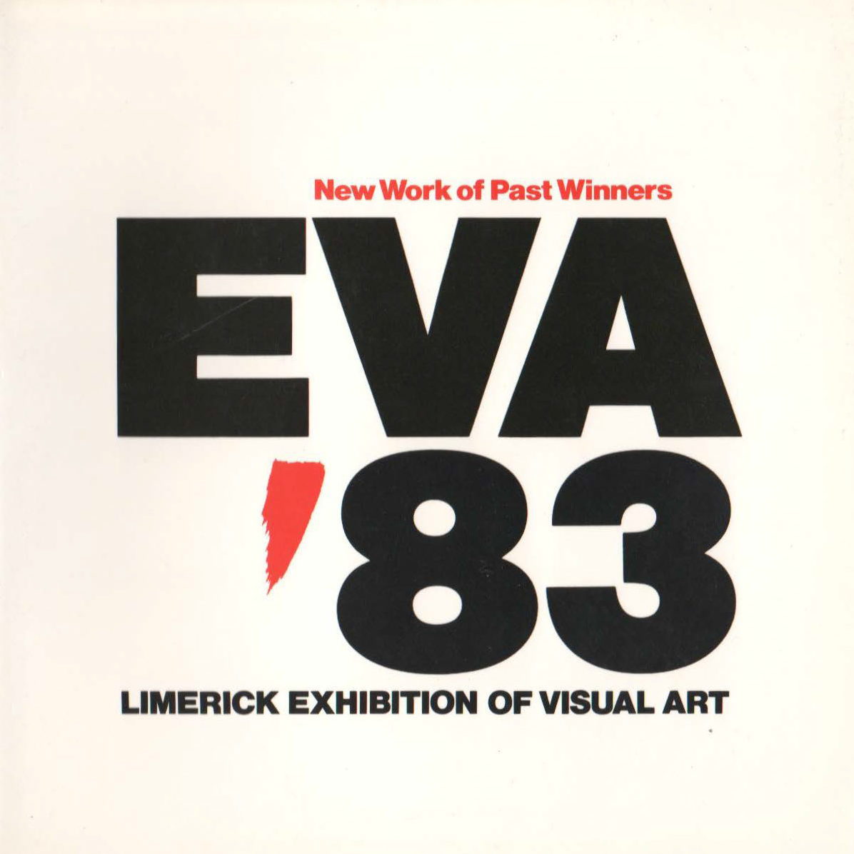 EVA 1983 Catalogue Cover