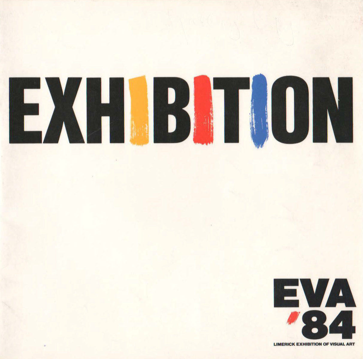 EVA 1984 Catalogue Cover