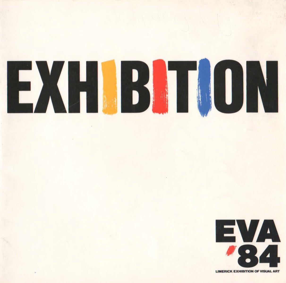 EVA 1984 Catalogue Cover