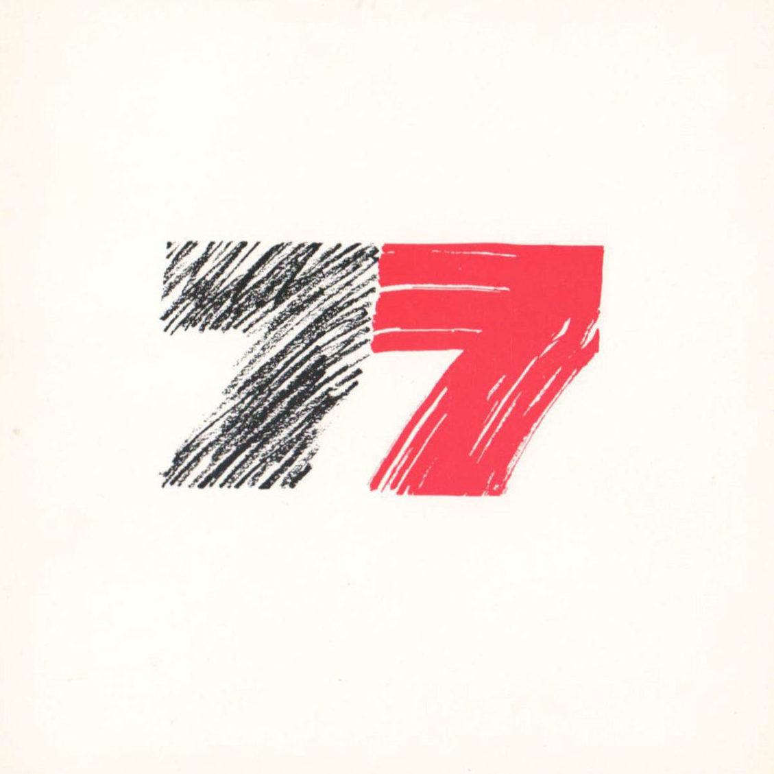 '77 Exhibition of Visual Arts Catalogue Cover
