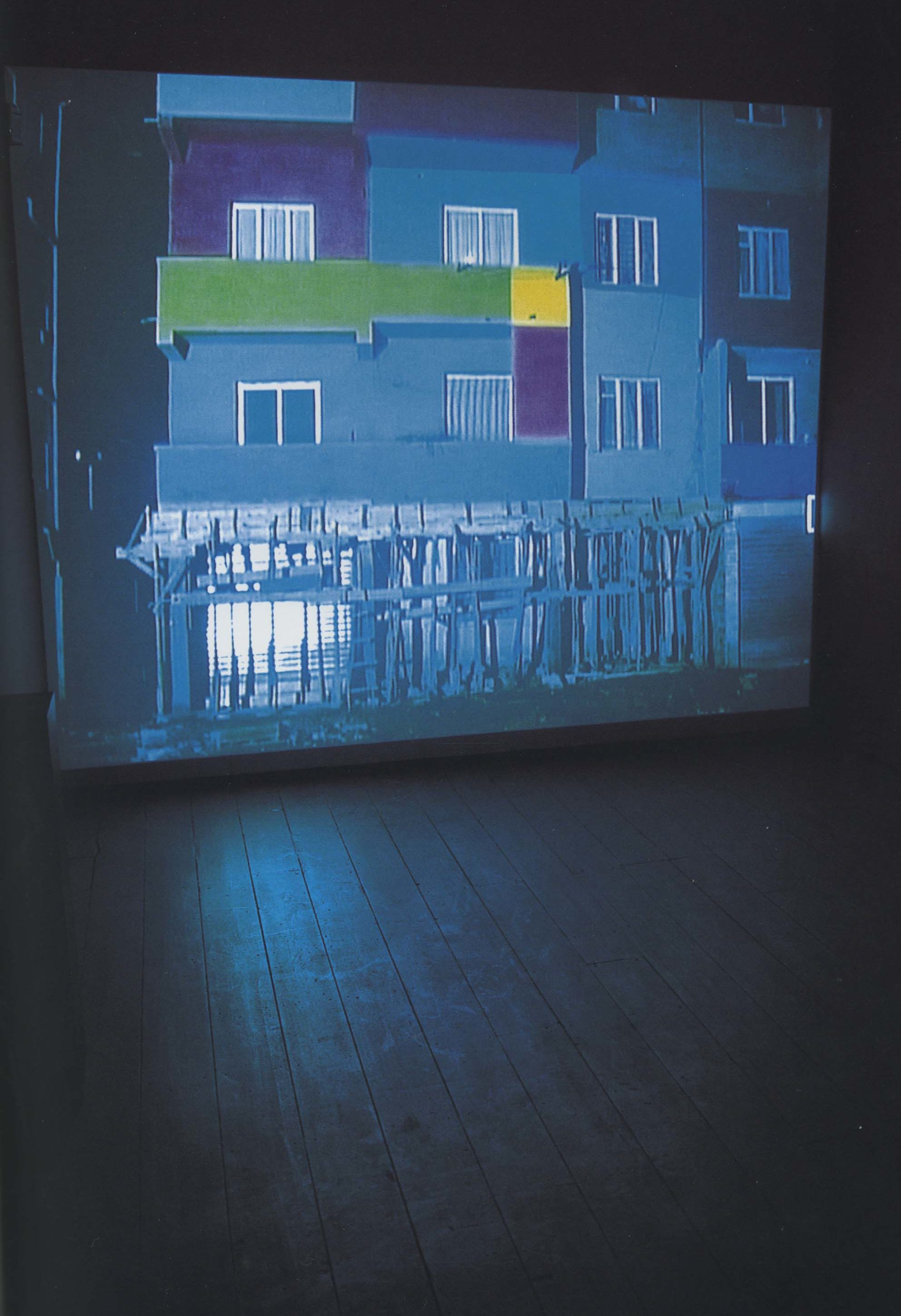 Anri Sala, Dammi i Colori, 2003, video projection with sound, 15 minutes 30 seconds, courtesy the artist and Hauser & Wirth, Zurich/ London