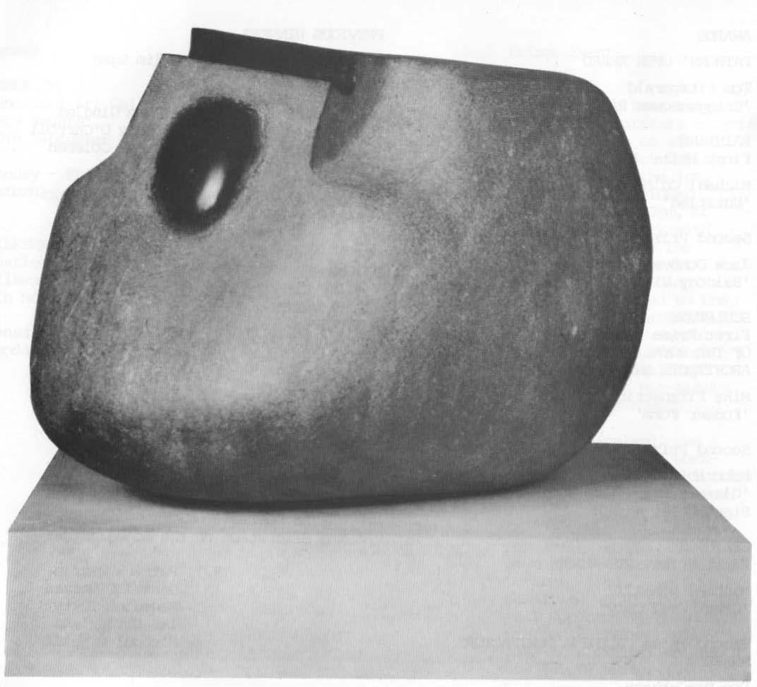 Tom Fitzgerald, Craggaunowen Piece, limestone, 24 x 20 x 29 cm