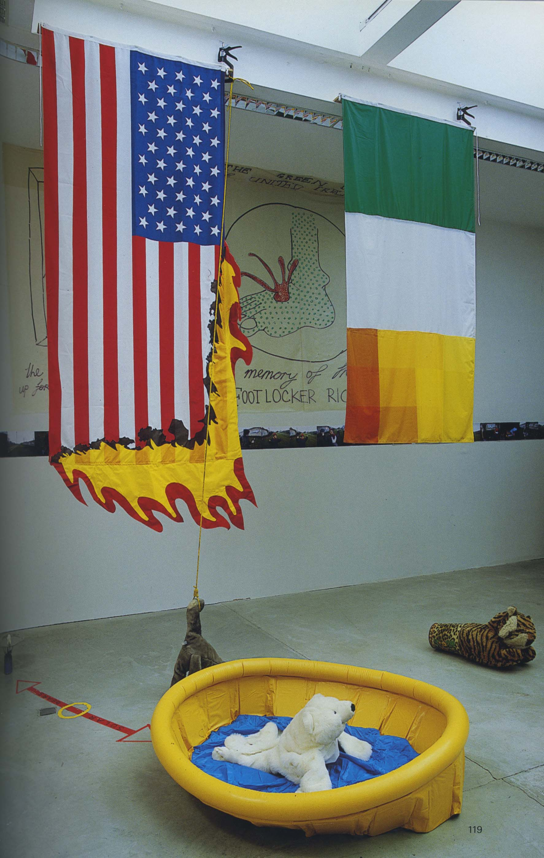 Nevart Lahart, Every Man, Woman and Child for themselves and God against All, 2006, installation, dimensions variable