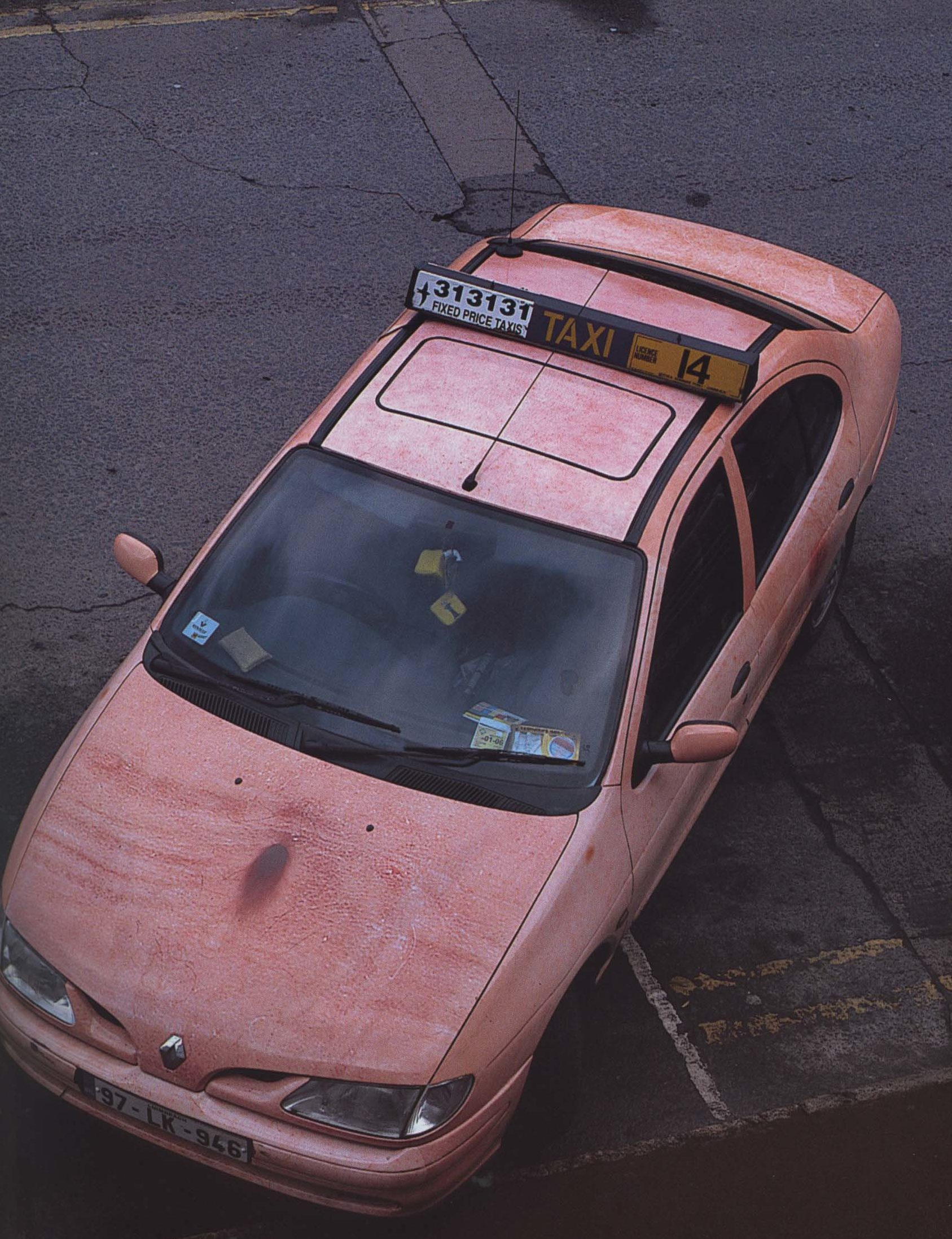 Patrick Killoran, Autobody 09 (Willie O'Brien), 2000 - 2005, roving city-centre taxi